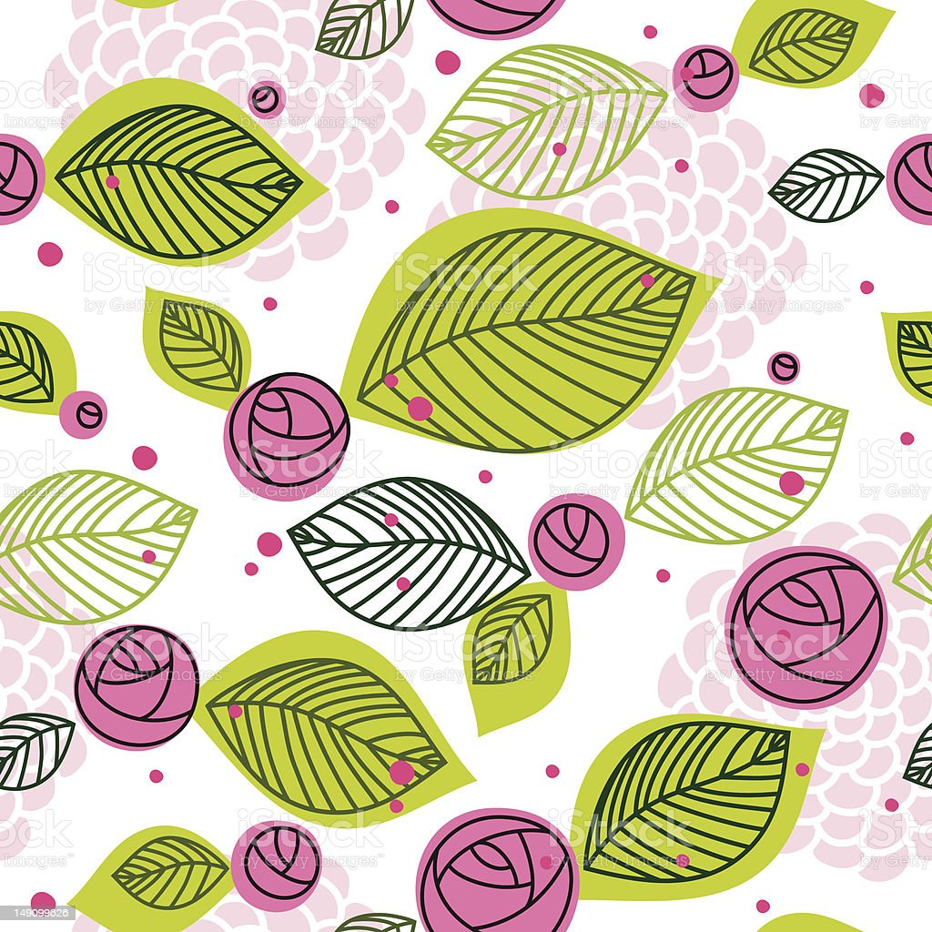 Rose seamless pattern royalty-free rose seamless pattern stock vector art & more images of abstract