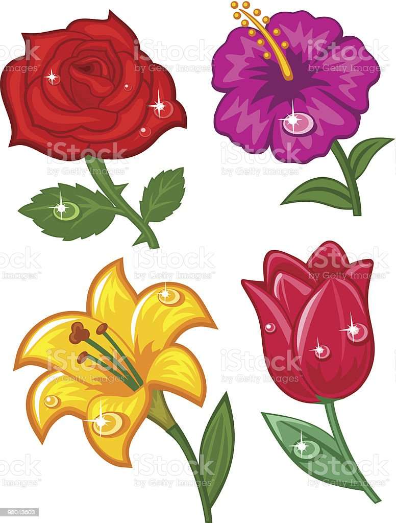 Rose royalty-free rose stock vector art & more images of beauty