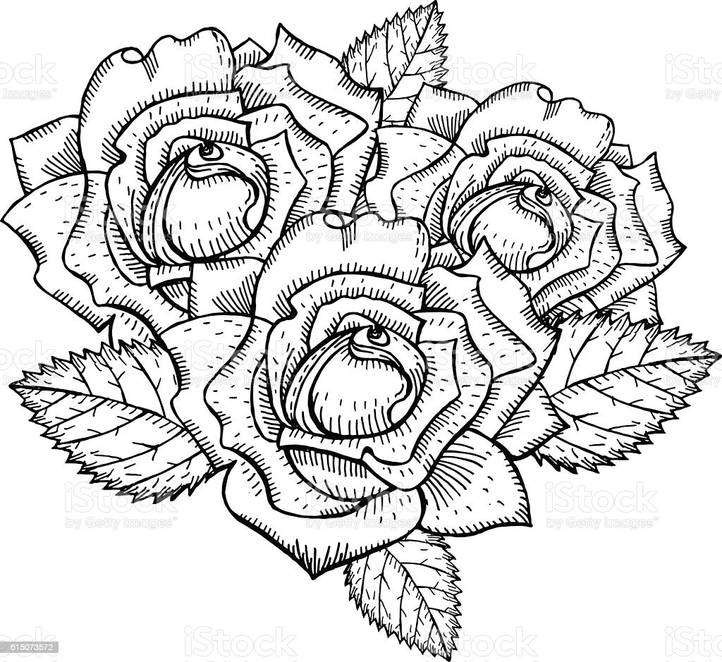 Roses To Draw Tattoo
