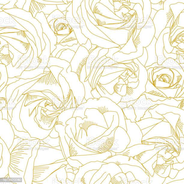 Roses bud outlines seamless pattern with flowers in yellow and golden vector id1073520280?b=1&k=6&m=1073520280&s=612x612&h=kazgz jmp0w 114ze4 hwxydy benoodquwyekoqpjo=