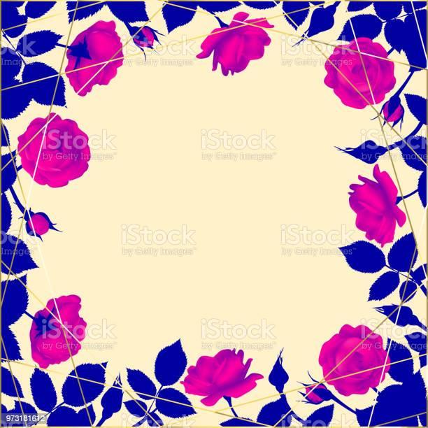 Roses flowers floral background vector illustration border leaves vector id973181612?b=1&k=6&m=973181612&s=612x612&h=4xa3no9hnb sqklm gunvjl7ck4 hehuuekwa52thyu=
