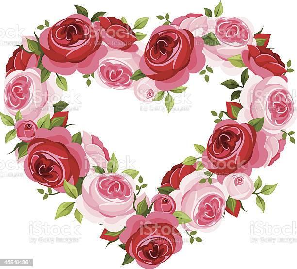 Roses heart frame vector illustration vector id459464861?b=1&k=6&m=459464861&s=612x612&h=ekjuskuqohmod3ju qvue9bijr7s9xy1uss9vjfm2pg=