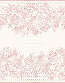 istock Roses Lace Seamless Pattern. 165787007