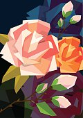 Roses. Vector illustration can be scale to any size