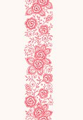 istock Roses Vertical Lace Seamless Pattern. 165765917