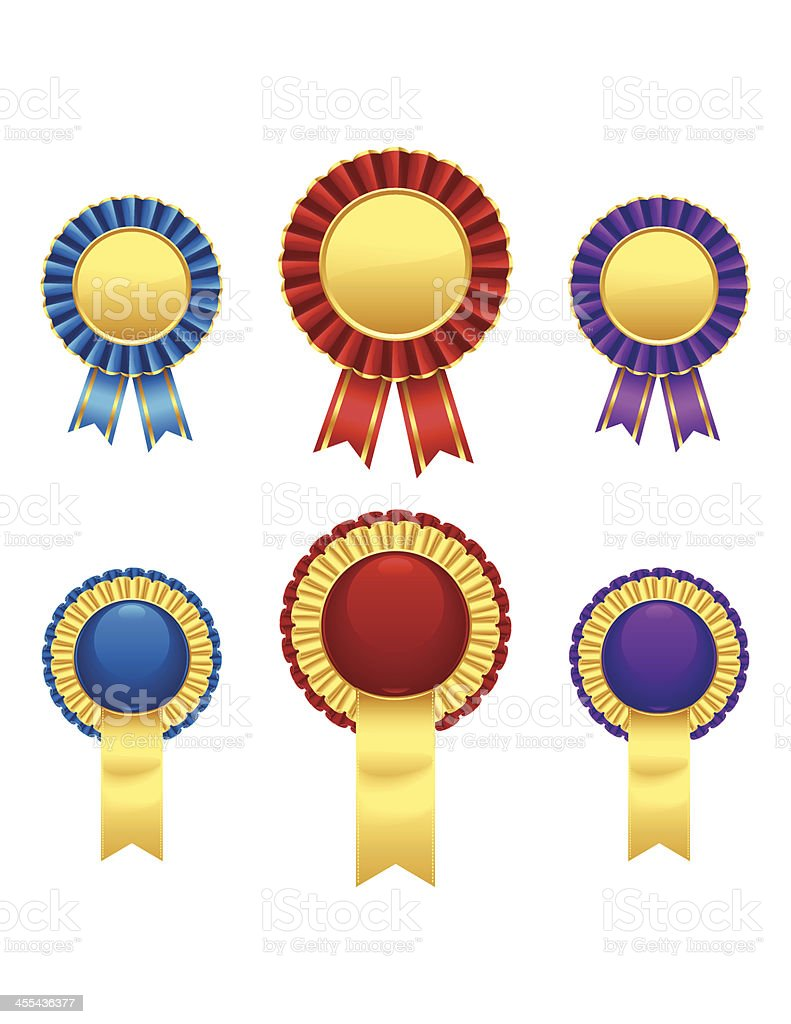 Rosettes royalty-free rosettes stock vector art & more images of achievement