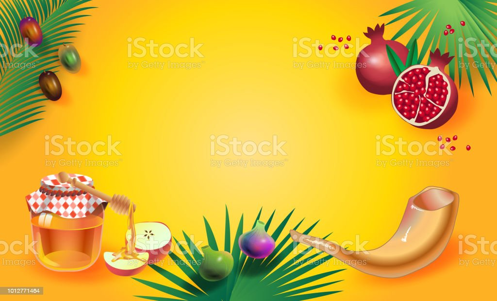 Rosh hashanah greeting card shana tova honey and apple stock vector rosh hashanah greeting card shana tova honey and apple royalty free rosh hashanah m4hsunfo