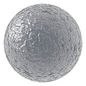rough metallic ball