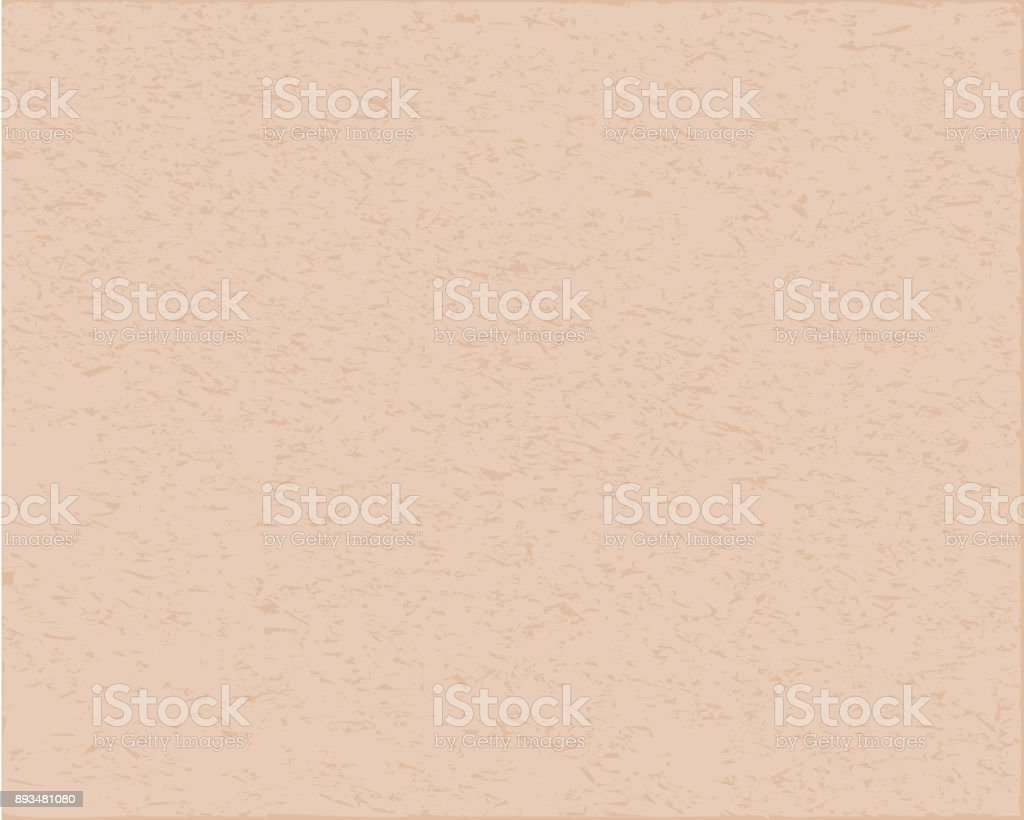 Rough plastered wall, building material of pale pink color. vector art illustration
