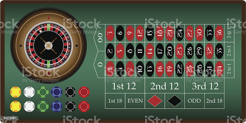 roulette royalty-free roulette stock vector art & more images of ball