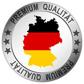 round button for germany Premium Qualität
