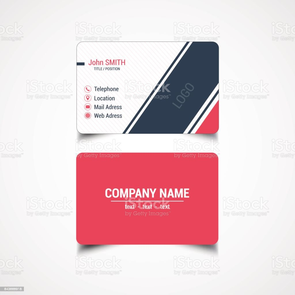 Round corner business card template stock vector art more images round corner business card template royalty free round corner business card template stock vector art accmission Gallery