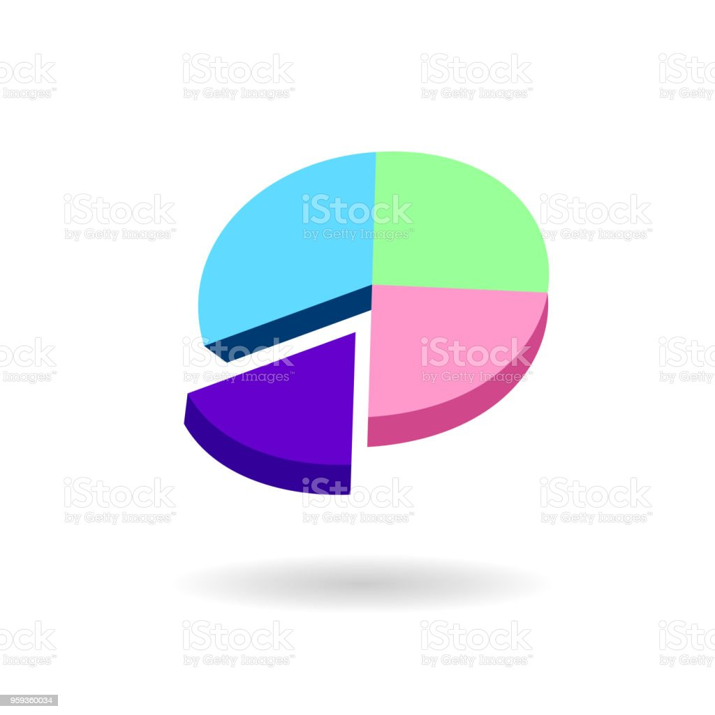 Shadow Art Diagram Data Wiring Diagrams 1986 Honda Vt1100 Round Pie With Stock Vector More Images Of Rh Istockphoto Com 2005 Aero And Electrical