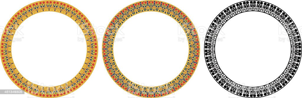 Round Egypt Frame royalty-free round egypt frame stock vector art & more images of africa