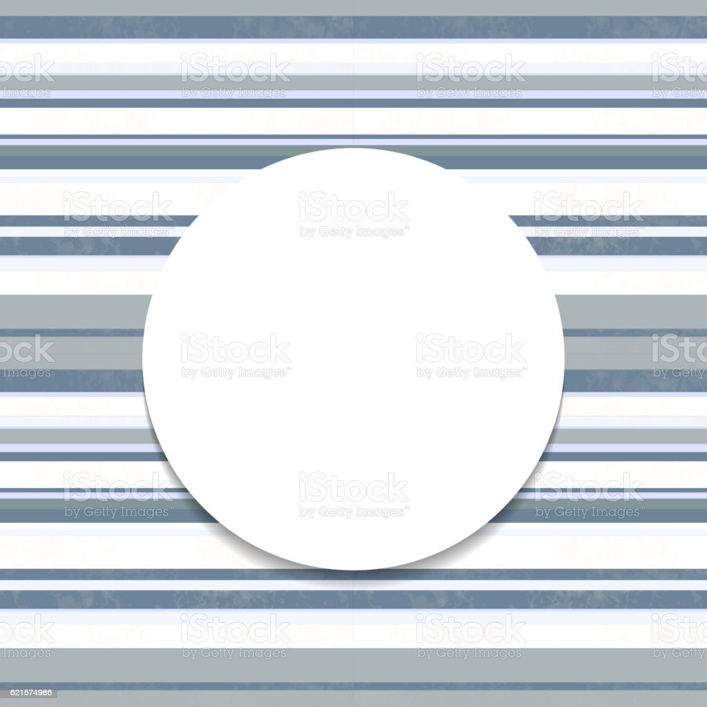 Round frame on striped seamless background. round frame on striped seamless background – cliparts vectoriels et plus d'images de abstrait libre de droits
