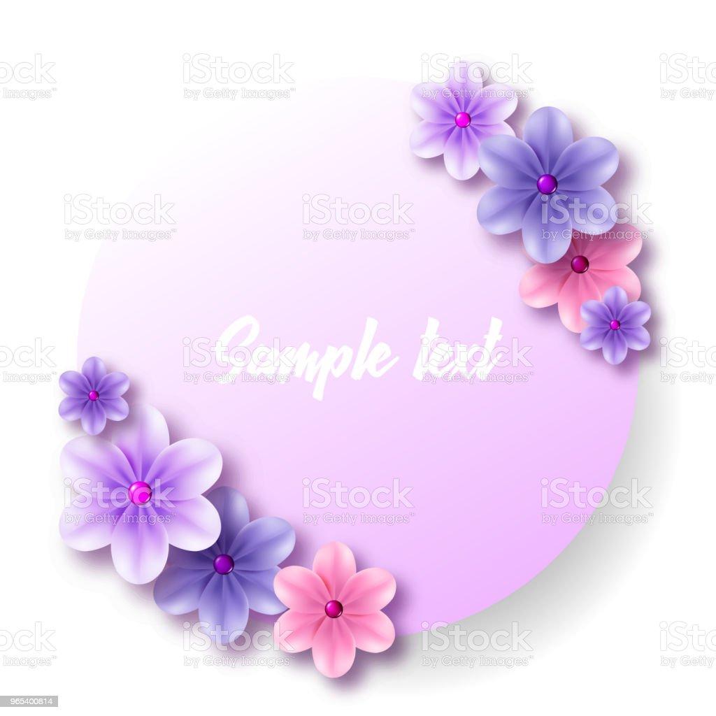 Round label and sticker with a bouquet of tender blue flowers round label and sticker with a bouquet of tender blue flowers - stockowe grafiki wektorowe i więcej obrazów bez ludzi royalty-free