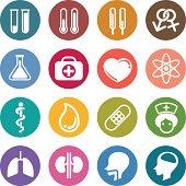 Round medical icon