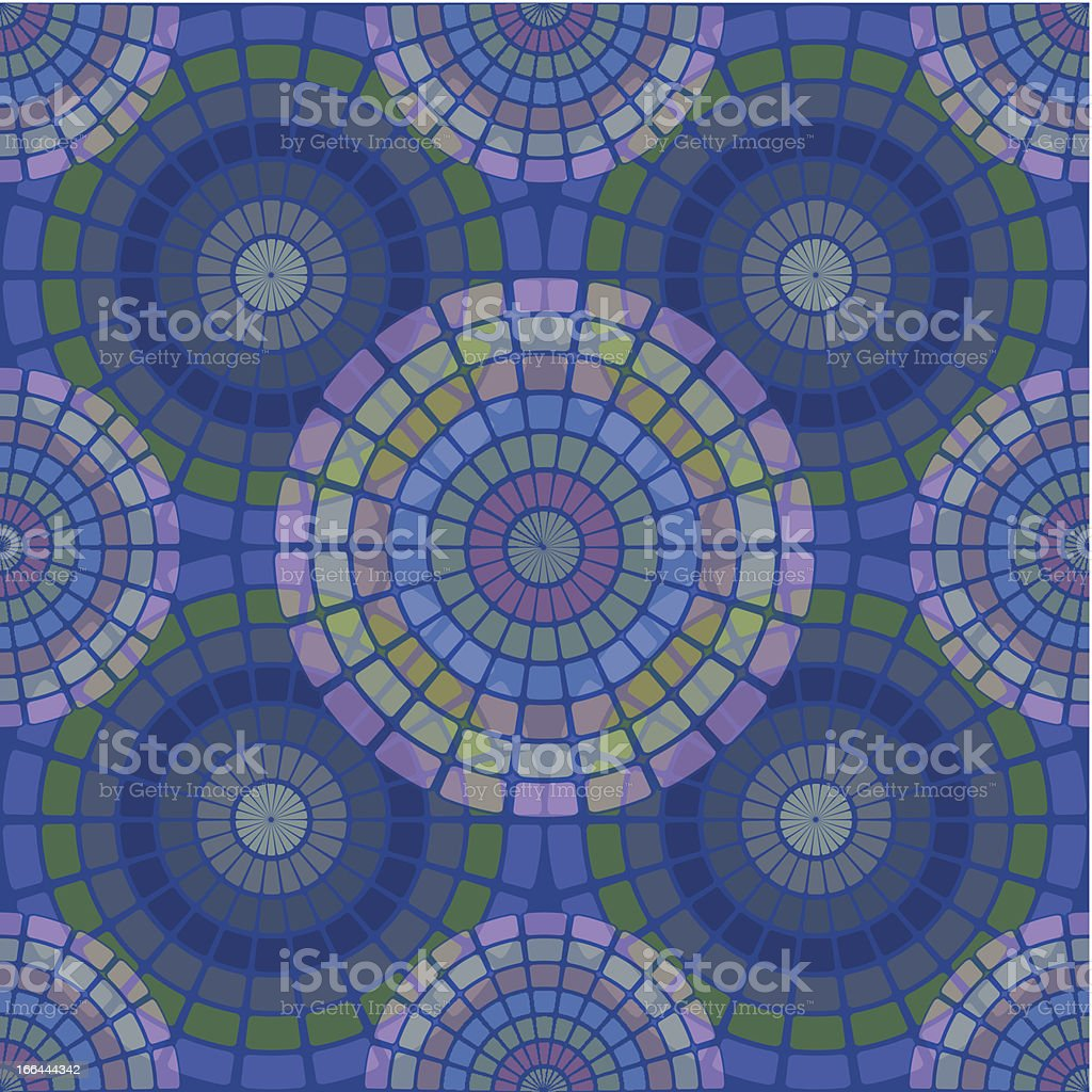 Round mosaic pattern royalty-free round mosaic pattern stock vector art & more images of abstract
