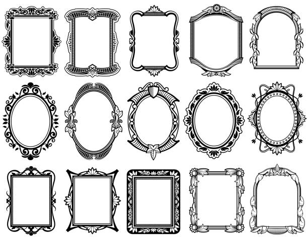Best Oval Shape Illustrations Royalty Free Vector