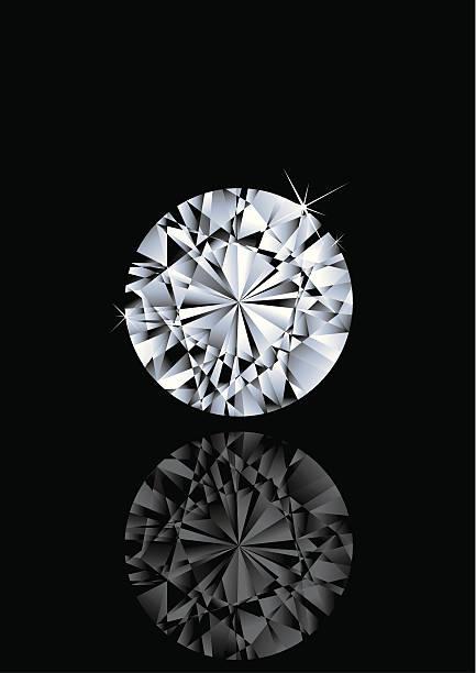 round shape gem - diamond shaped stock illustrations, clip art, cartoons, & icons