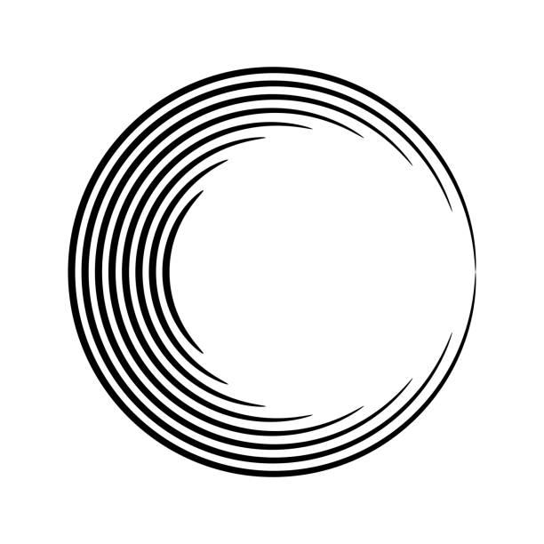 runde form - schallplatte stock-grafiken, -clipart, -cartoons und -symbole