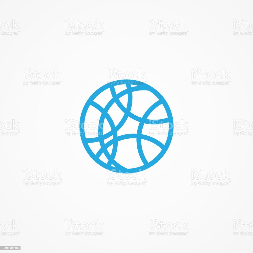 Round shaped abstract art vector concept design on the white background royalty-free round shaped abstract art vector concept design on the white background stock vector art & more images of abstract