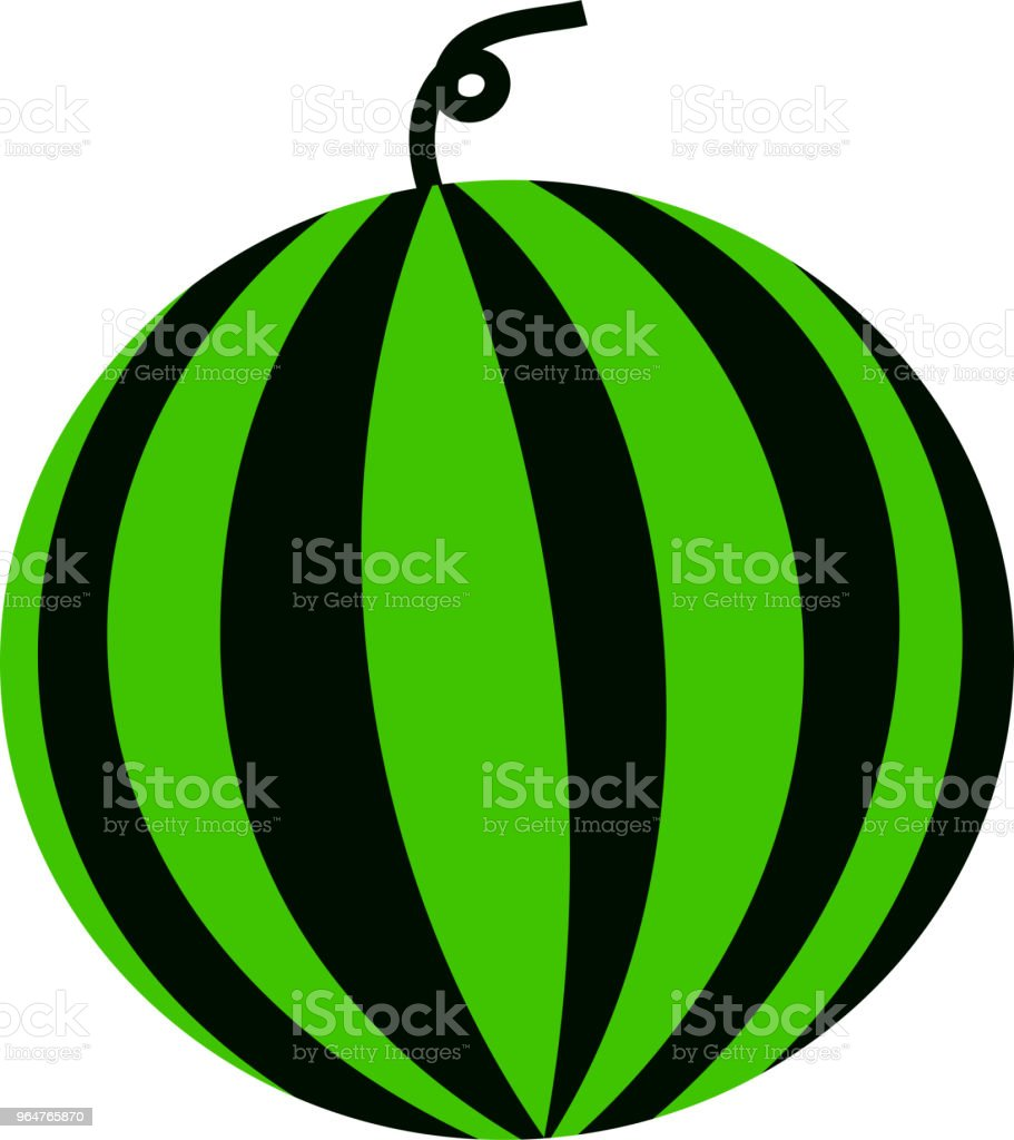 Round watermelon illustration royalty-free round watermelon illustration stock vector art & more images of august