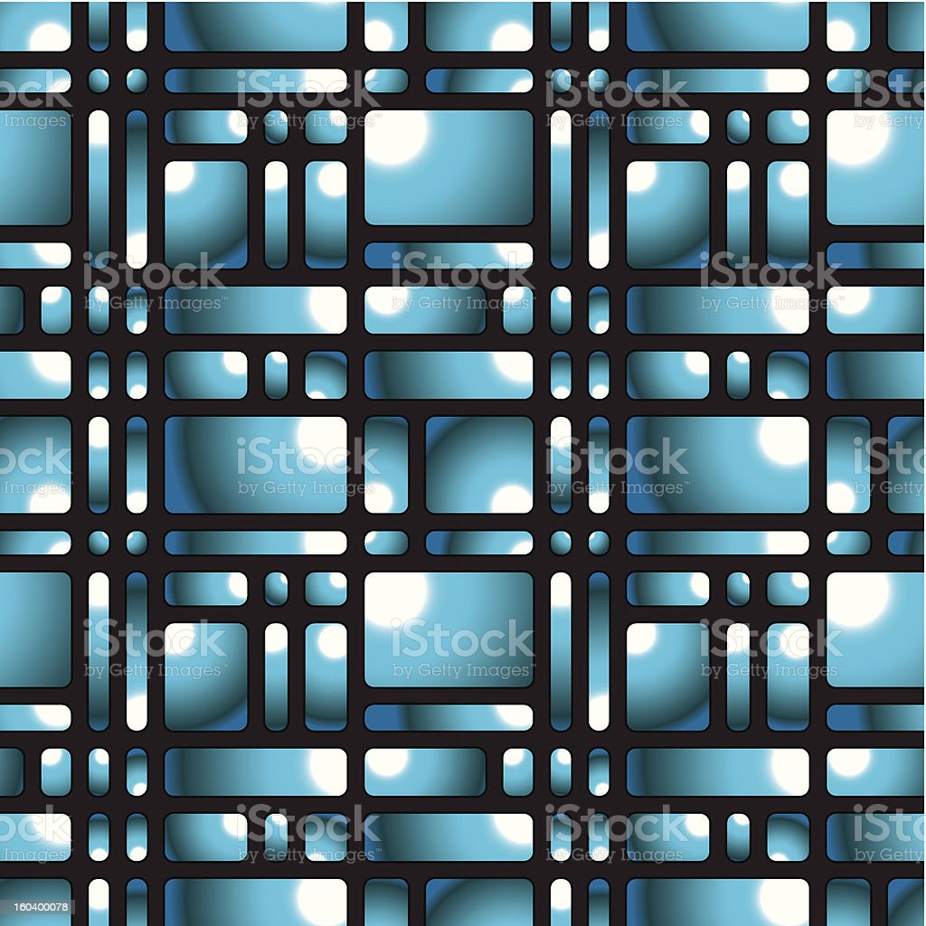 Rounded squares seamless pattern. royalty-free stock vector art