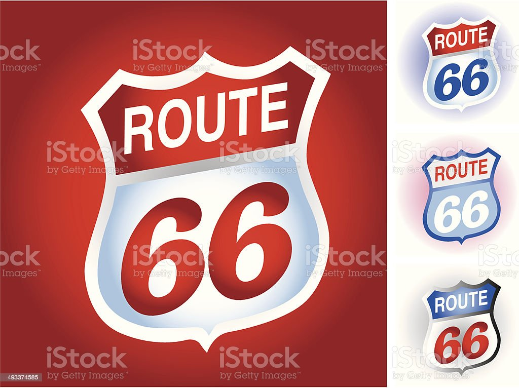 Route66 royalty-free route66 stock vector art & more images of 60-64 years