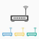 istock router icon 1125591714