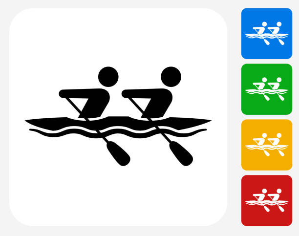 Best Rowing Illustrations, Royalty-Free Vector Graphics ...