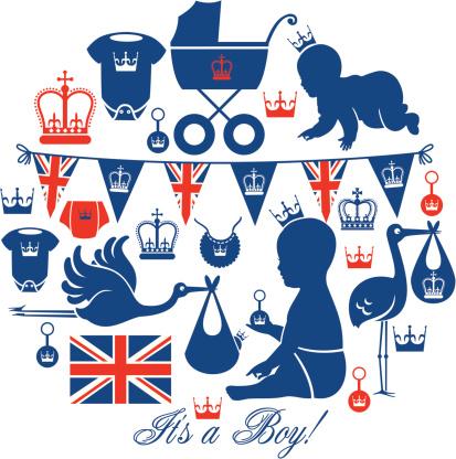 Royal Baby Icon Set