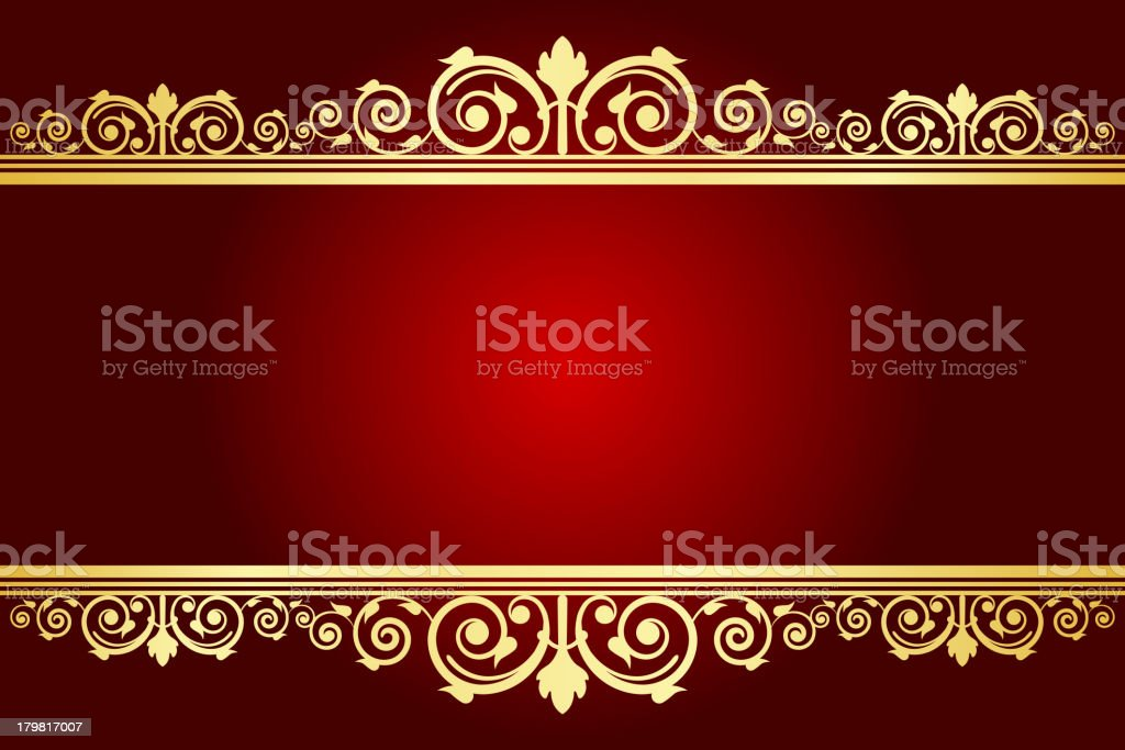 royal background with decorated frame royalty-free stock vector art