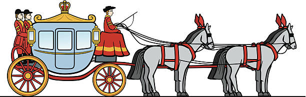 Royalty Free Horse Carriage Clip Art, Vector Images ...