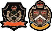 royal crown emblem badge