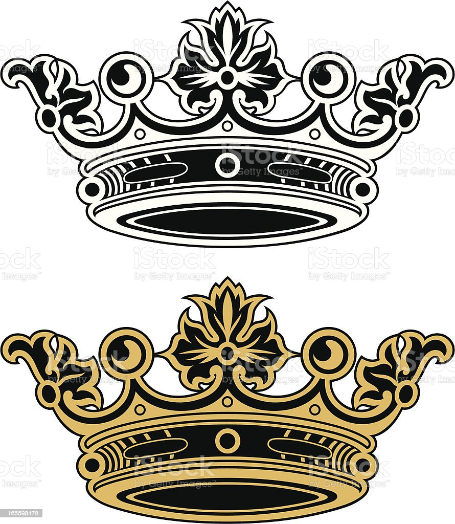 Royal Crown royalty-free royal crown stock vector art & more images of arts culture and entertainment