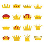Royal crowns vector illustration se