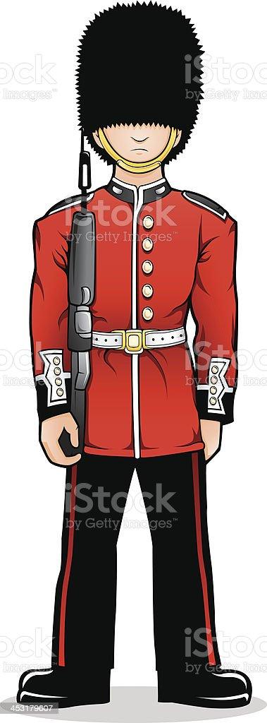 Royal Guard royalty-free stock vector art