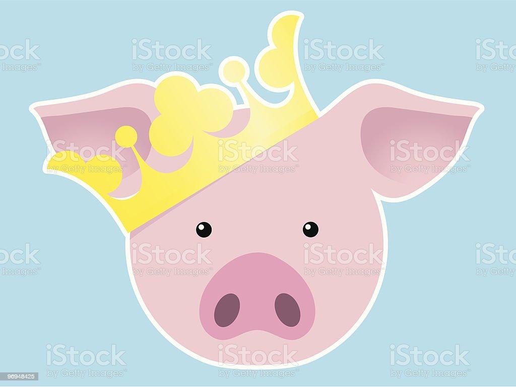 Royal pig royalty-free royal pig stock vector art & more images of animal