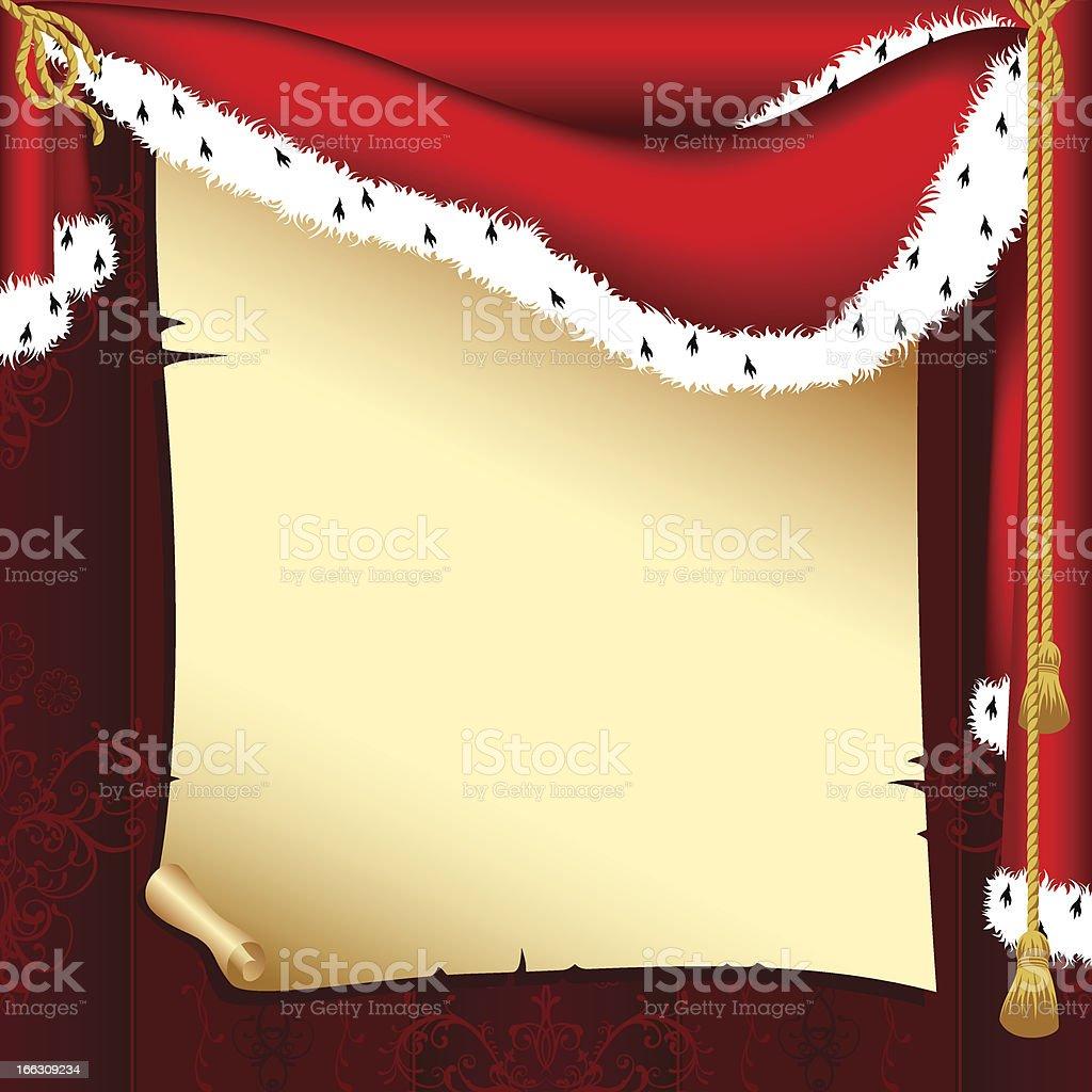 Royal retro scroll royalty-free stock vector art