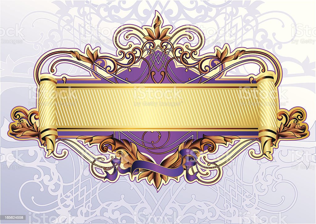 Royal Scroll royalty-free royal scroll stock vector art & more images of abstract