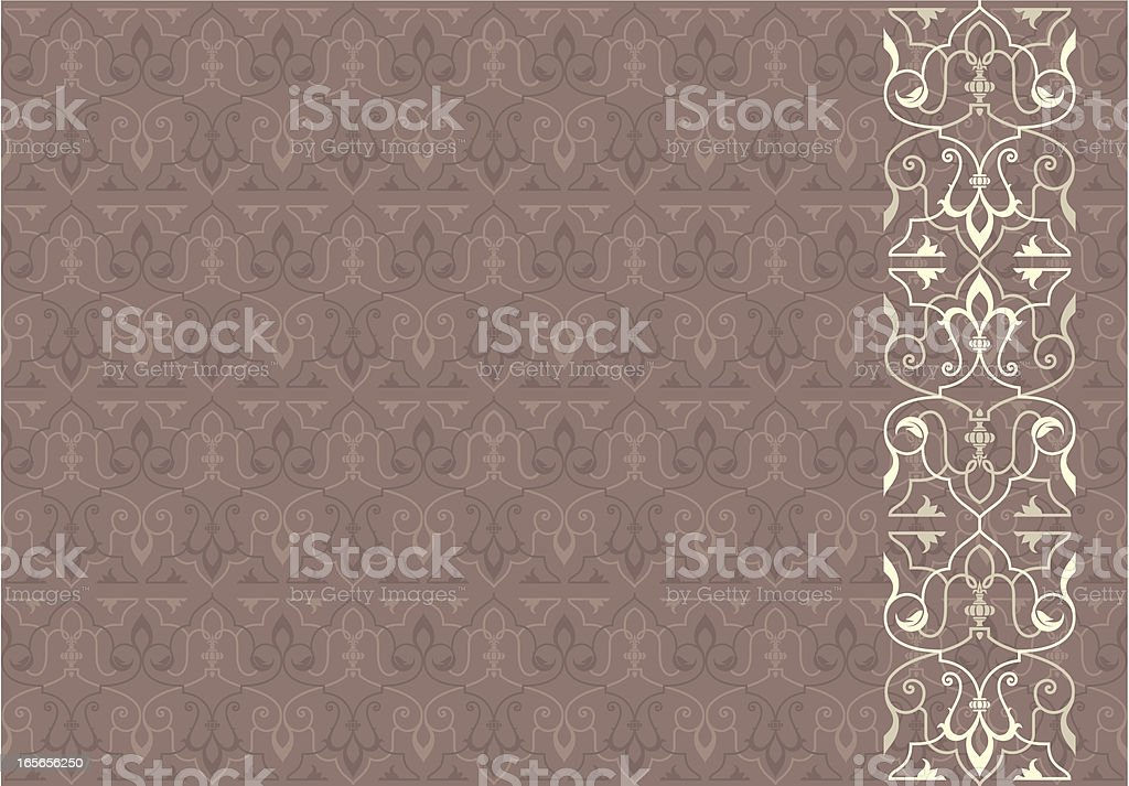 Royal Seamless Background royalty-free stock vector art
