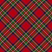 istock Royal Stewart Modern Tartan Seamless Pattern 1273373030