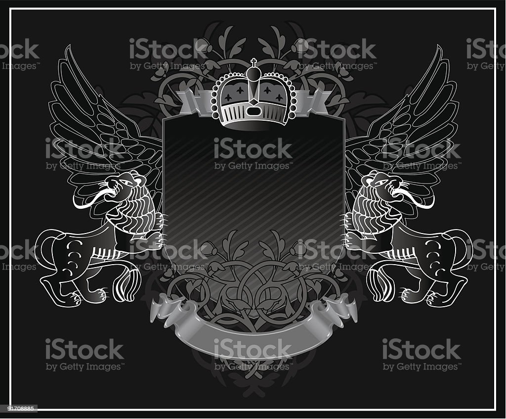 Royal vintage vector illustration royalty-free royal vintage vector illustration stock vector art & more images of abstract