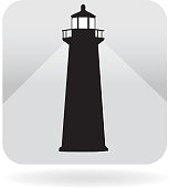 istock Royalty free lighthouse icon 538277827