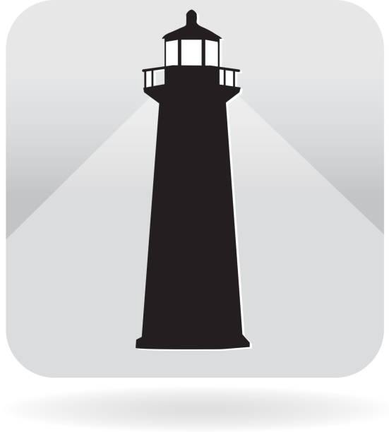 Royalty free lighthouse icon Lighthouse icon lighthouse stock illustrations