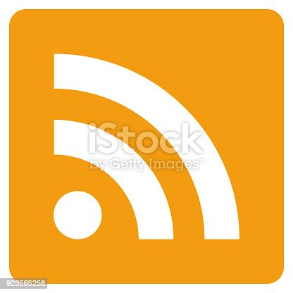 istock rss icon vector 923565258