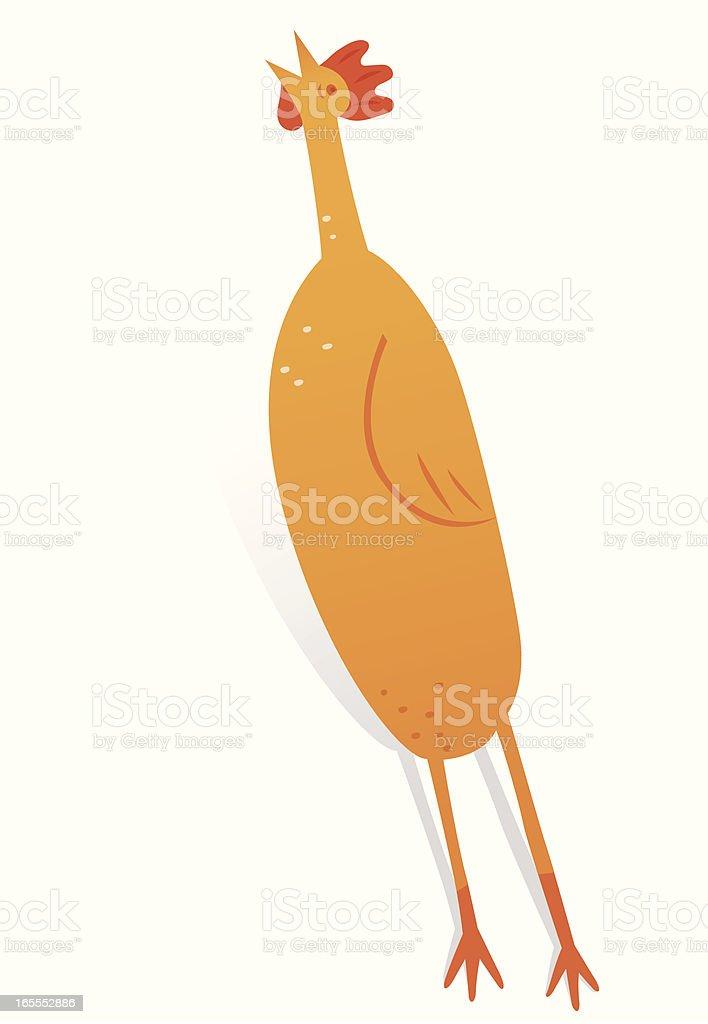 Rubber Chicken vector art illustration