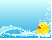 Rubber Duck Background