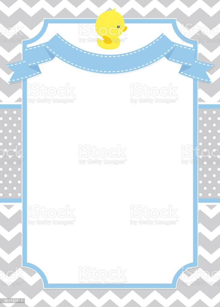 Rubber duck invitation stock vector art more images of baby rubber duck invitation royalty free rubber duck invitation stock vector art amp more images stopboris Images